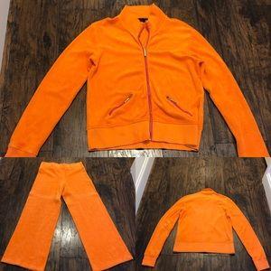 Ralph Lauren Women's Terry Jogging Suit